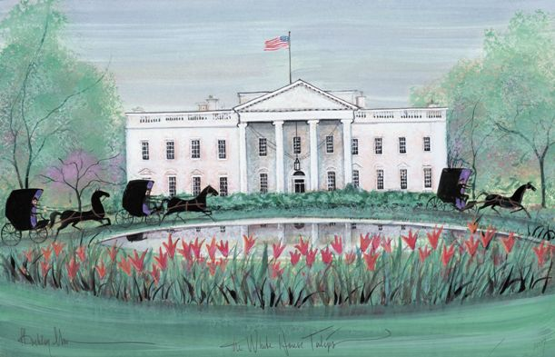 White house tulips the p buckley moss galleries ltd for The buckley house